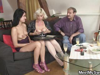 Русское порно со зрелыми мамками
