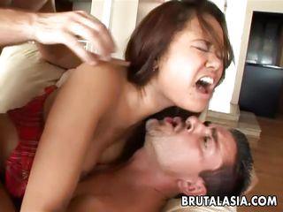 Жесткое порно двойное проникновение